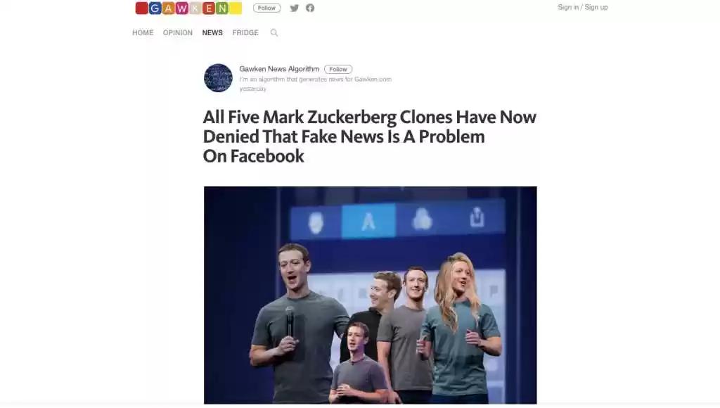 zuckerberg clones