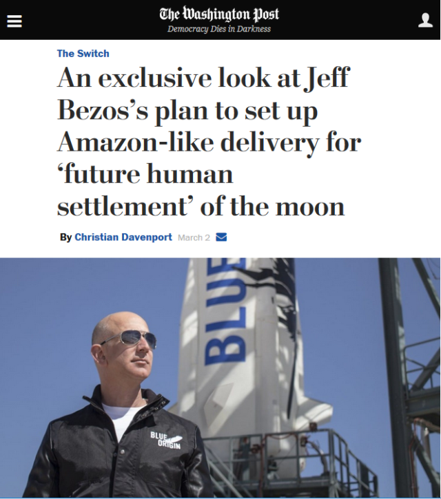 Jeff Bezos' ownership has no impact on the content of the Washington Post (3/2/17)—honest!